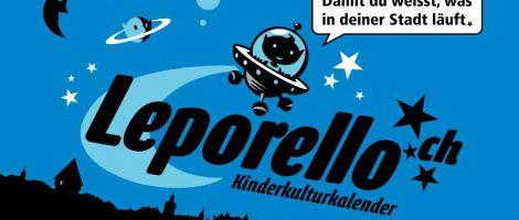 Leporello, der Kinderkulturkalender.